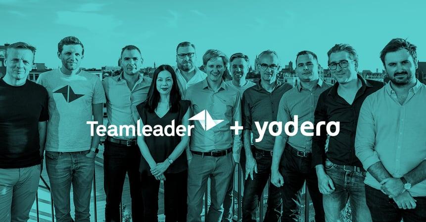 """Teamleader neemt softwarebedrijf Yadera over: """"een perfecte match"""""""