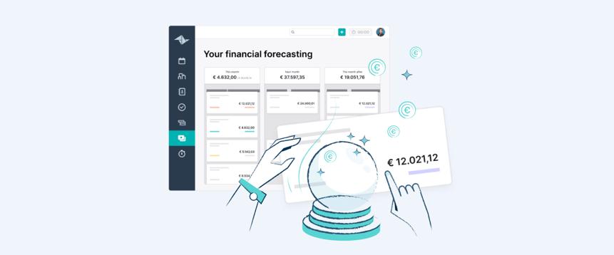 Voorspel je omzet met Teamleaders Financiële Forecast