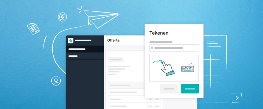 Teamleader-offertes worden twee keer zo snel getekend. Dankzij het vernieuwde Cloudsign.