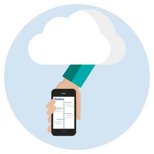 Mobiele app crm