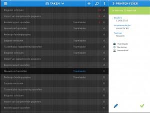 De Teamleader mobile app