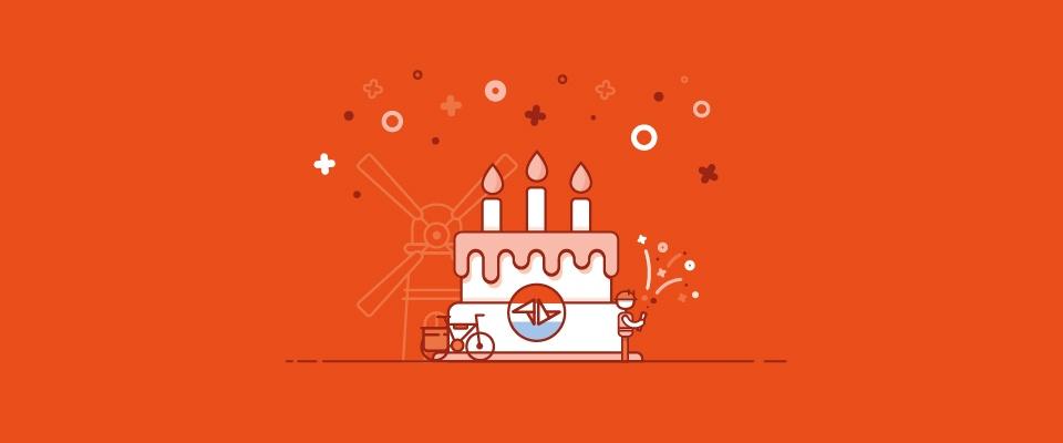Hoera! Teamleader Nederland bestaat 3 jaar