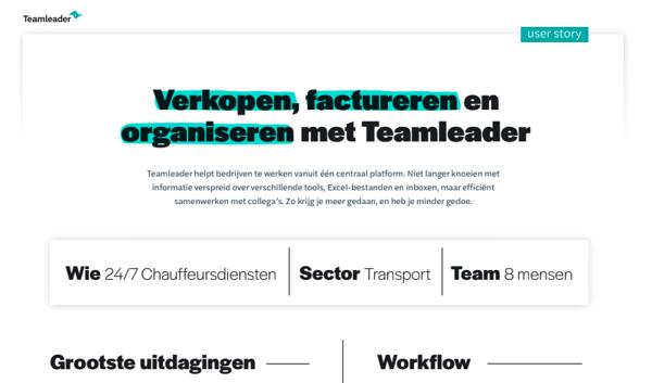 Nl-NL - User story - 24/7 Chauffeursdiensten